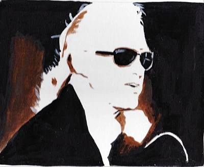Jimmy Page 2 Art Print by Audrey Pollitt