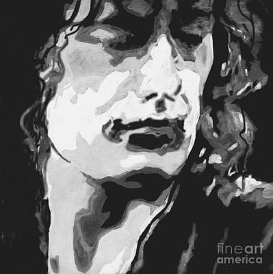 The Legend -jimmy Page  Original by Tanya Filichkin