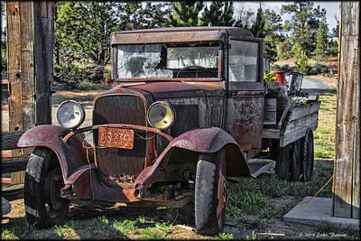 Photograph - Jim's Truck by Erika Fawcett