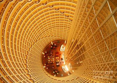 Moa Photograph - Jin Mao Tower, Shanghai, China by Matthias Lenke