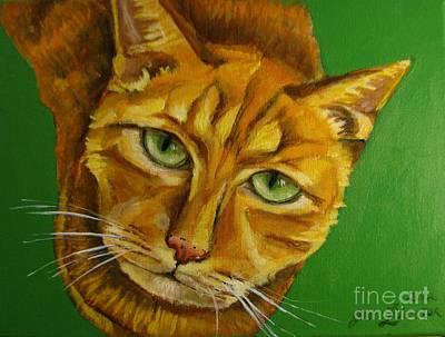 Jing Jing - Cat Art Print