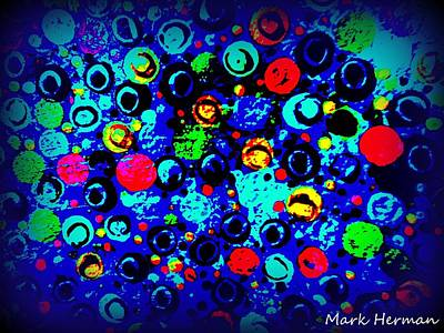 Painting - Jingle Balls by Mark Herman