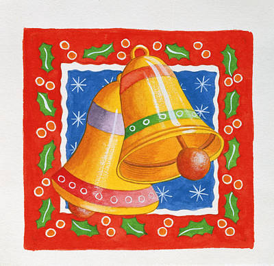 Jingle Bells Print by Tony Todd