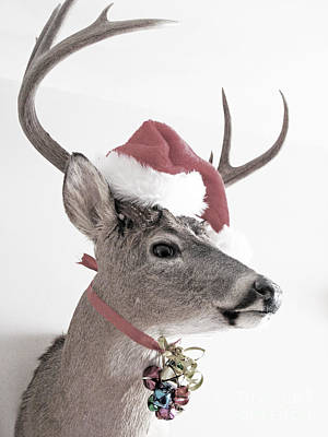 Jingle Deer Art Print