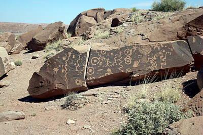 Photograph - Jitterbug Petroglyph by Susan Woodward