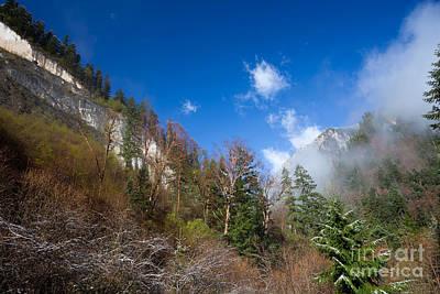 Photograph - Jiuzhaigou Mountain Pinnacle Landscape China by Fototrav Print