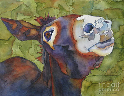 Jackass Painting - Jj The Jackass Ll by Robin Hegemier