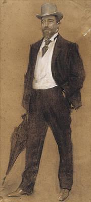 Joan Baptista Pares Art Print by Ramon Casas