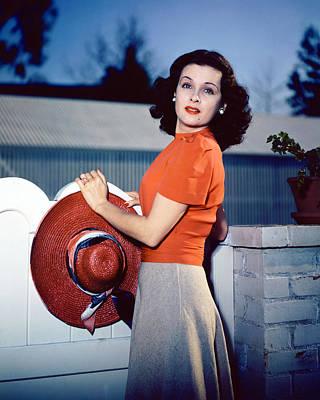 Bennett Photograph - Joan Bennett by Silver Screen