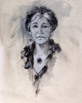 Painting - Joan by Chris  Saper