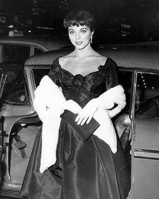 1950s Candids Photograph - Joan Collins, Ca. Late 1950s by Everett