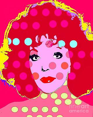 Digital Art - Joan Collins by Ricky Sencion