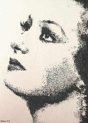 Joan Crawford Painting - Joan Crawford by Cherise Foster