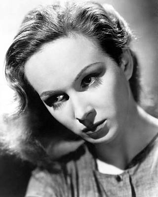 Joan Greenwood Print by Silver Screen