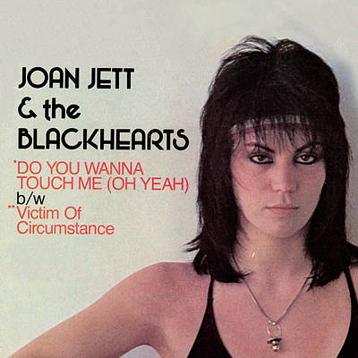 Joan Jett - Do You Wanna Touch Me 1982 Art Print by Epic Rights