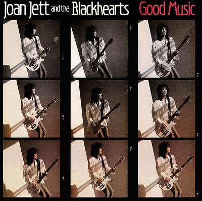 Joan Jett - Good Music 1986 Art Print by Epic Rights