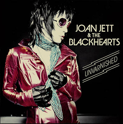 Punk Rock Photograph - Joan Jett - Unvarnished 2013 by Epic Rights