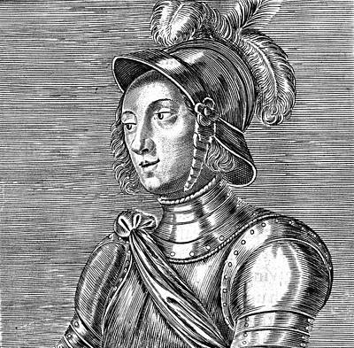 Joan Of Arc  French Heroine Art Print by Mary Evans Picture Library