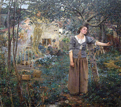 Joan Of Arc Art Print by Jules Bastien-Lepage