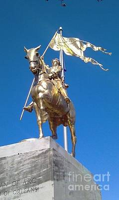 Photograph - Joan Of Arc by Michael Hoard