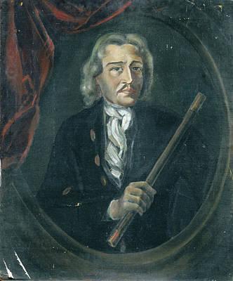 Joan Van Hoorn 1653-1711 Art Print