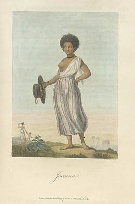 Slaves Photograph - Joanna by British Library