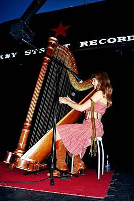 Photograph - Joanna Newsom At Easy Street Records by Gary Smith