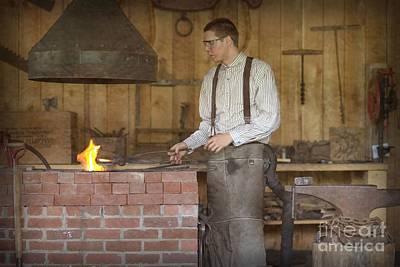 Photograph - Job - Blacksmith by Liane Wright