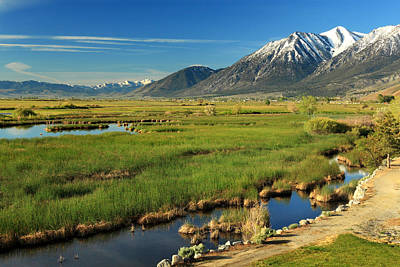 Photograph - Job's Peak Carson Valley by James Eddy