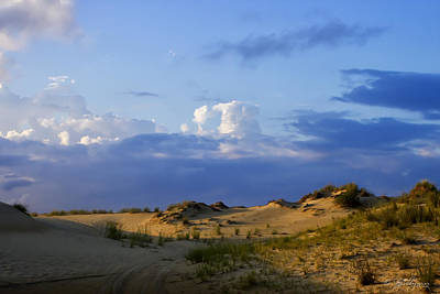 Photograph - Jockey's Ridge State Park by Skip Tribby