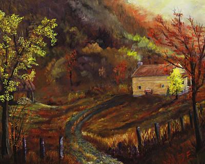 Smokey Mountains Painting - Joe Brown Charmer by Tim Ford