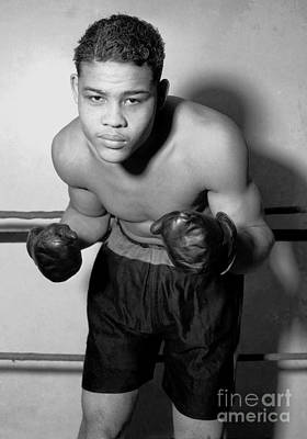 Photograph - Joe Louis by Roberto Prusso