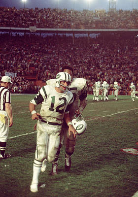 Joe Namath Superbowl IIi Art Print
