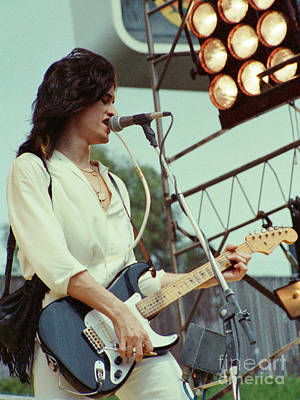Aerosmith Photograph - Joe Perry Of Aerosmith At 1979 Monsters Of Rock In Oakland Ca by Daniel Larsen