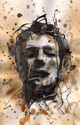 Joe Strummer Painting - Joe Strummer by Ryan  Hopkins