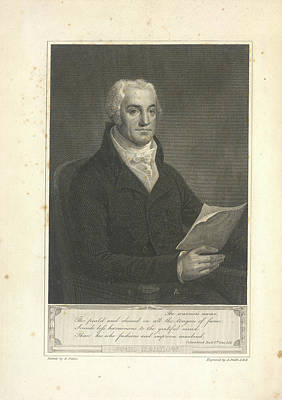 Joel Barlow Art Print by British Library