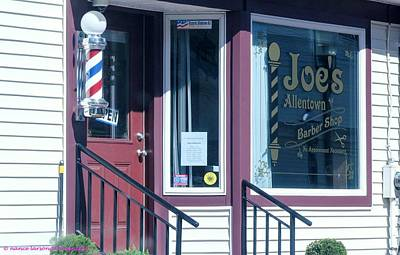Photograph - Joe's Barber Shop by Nance Larson