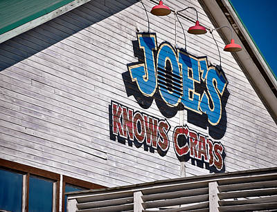 Photograph - Joe's Crab Shack by Greg Jackson