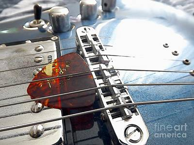 Photograph - Joe's Guitar by Robyn King