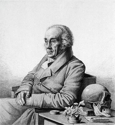 Johann Blumenbach Art Print by National Library Of Medicine