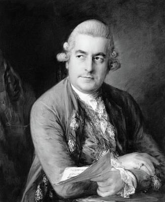 Bach Painting - Johann Christian Bach (1735-1782) by Granger