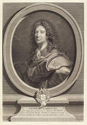 Johann Georg Wille After Hyacinthe Rigaud German Art Print