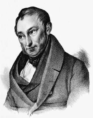 Painting - Johann Heinrich Von Thunen (1783-1850) by Granger
