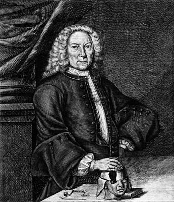 Johann Jacob Hartlieb Art Print by National Library Of Medicine