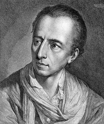Archaeologists Painting - Johann Joachim Winckelmann (1717-1768) by Granger