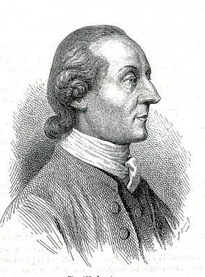 Pseudo Photograph - Johann Kaspar Lavater by Collection Abecasis