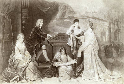 Bach Painting - Johann S by Granger