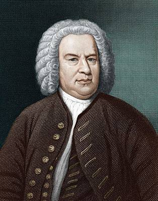 Johann Sebastian Bach (1685-1750) Art Print by Science Photo Library