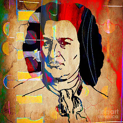 Mixed Media - Johann Sebastian Bach Collection by Marvin Blaine