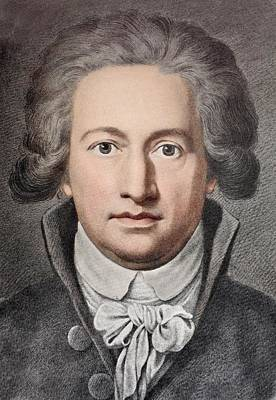 Johann Von Goethe Art Print by Paul D Stewart